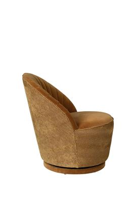 Dutchbone Madison lounge chair Whiskey